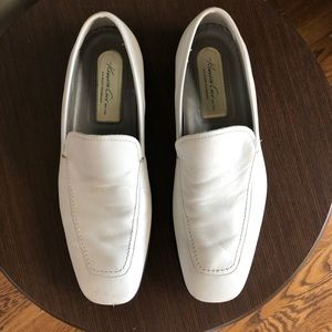 WHITE KENNETH COLE MENS LOAFER SIZE 9
